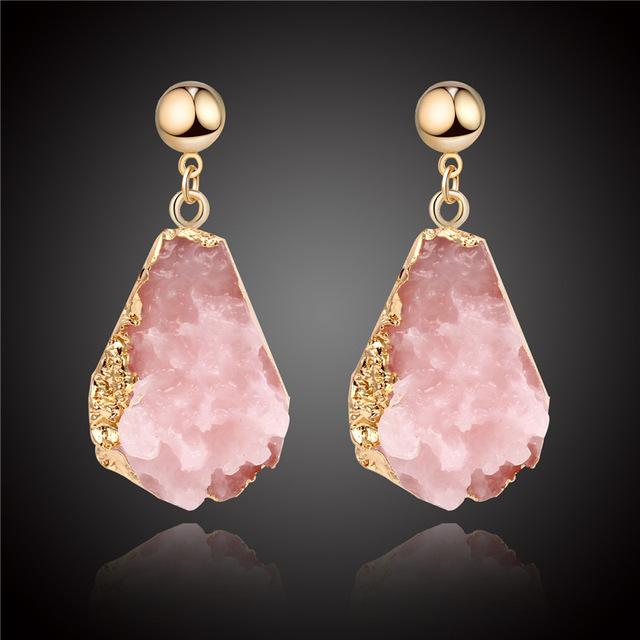CHENFAN Jewelry clothing accessories resin imitation stone earrings for women female earrings 2019 birthday party.jpg 640x640 - CHENFAN Jewelry clothing accessories resin imitation stone earrings for women female earrings 2019 birthday party