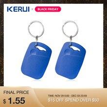 Kerui RFID карты 1 шт. 2 шт. RFID карты для домашняя система охранной сигнализации салфетки карты