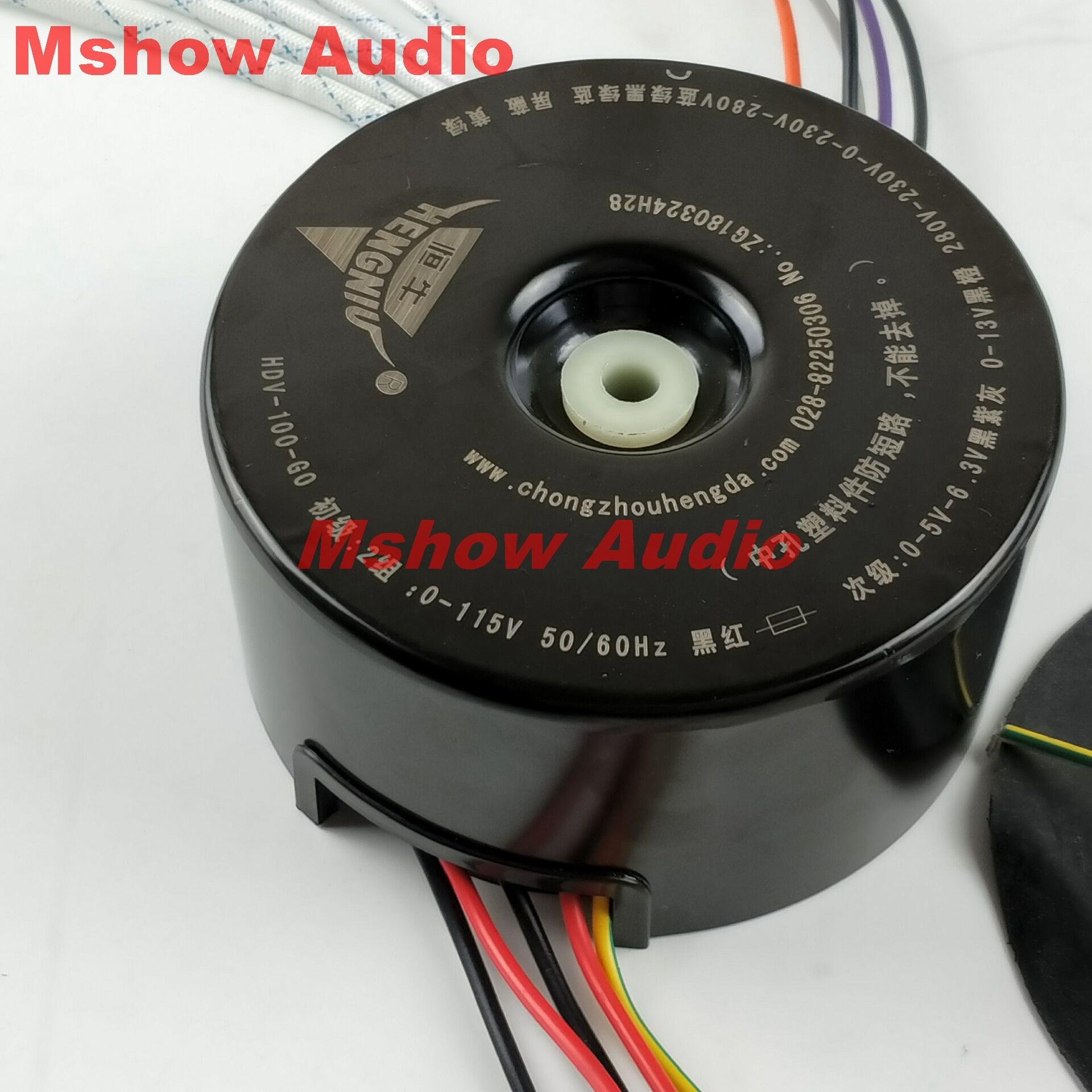 Transformateur toroïdal pour préamplificateur à Tube Cary 6SN7 280-230-0-230-280V 13V 6.3V