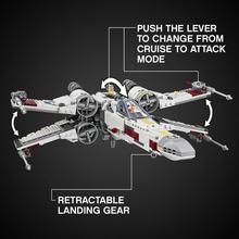 В наличии 05145 Lepining Звездные войны X-крыло истребителя Звездных войн 75218 строительные блоки кирпичи модель игрушки для детей рождественские подарки