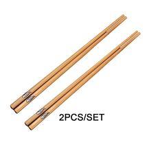 Чистые ручные деревянные палочки для еды из натурального бамбука
