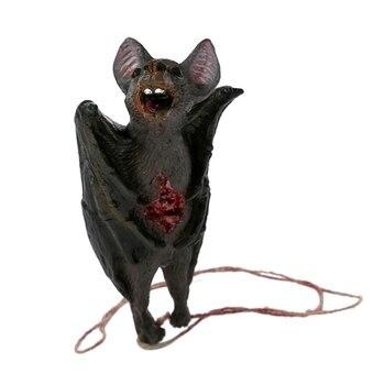 Decoración de Halloween de Horror colgante de araña de ratón con forma de Animal