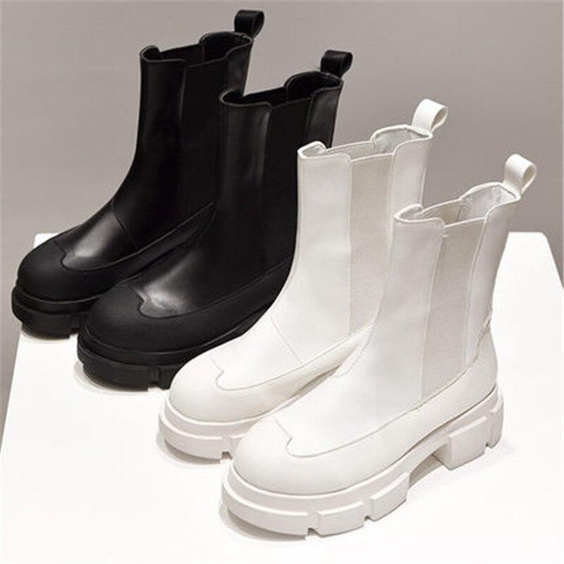2020 Autumn Winter Women PU Leather