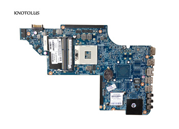 665349-001 Free Shipping For HP Pavilion DV6-6000 DV6T 48.4RH09.021 Laptop Motherboard Mainboard System board 100% Fully Tested