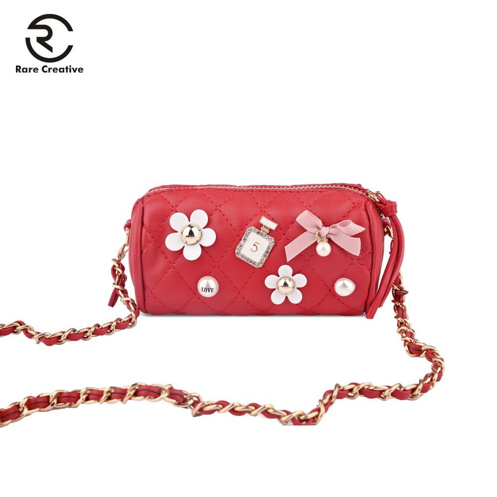RARE CREATIVE 2019 Fashion PU Leather Crossbody Bag Luxury Famous Brand Shoulder Bag Small Cute Women Purse Messenger Bag PS8014