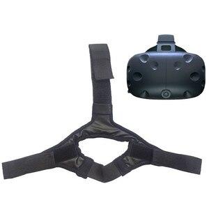 Image 4 - לנשימה בגימור ראש רצועת חגורת עבור עבור HTC VIVE VR אוזניות אבזרים