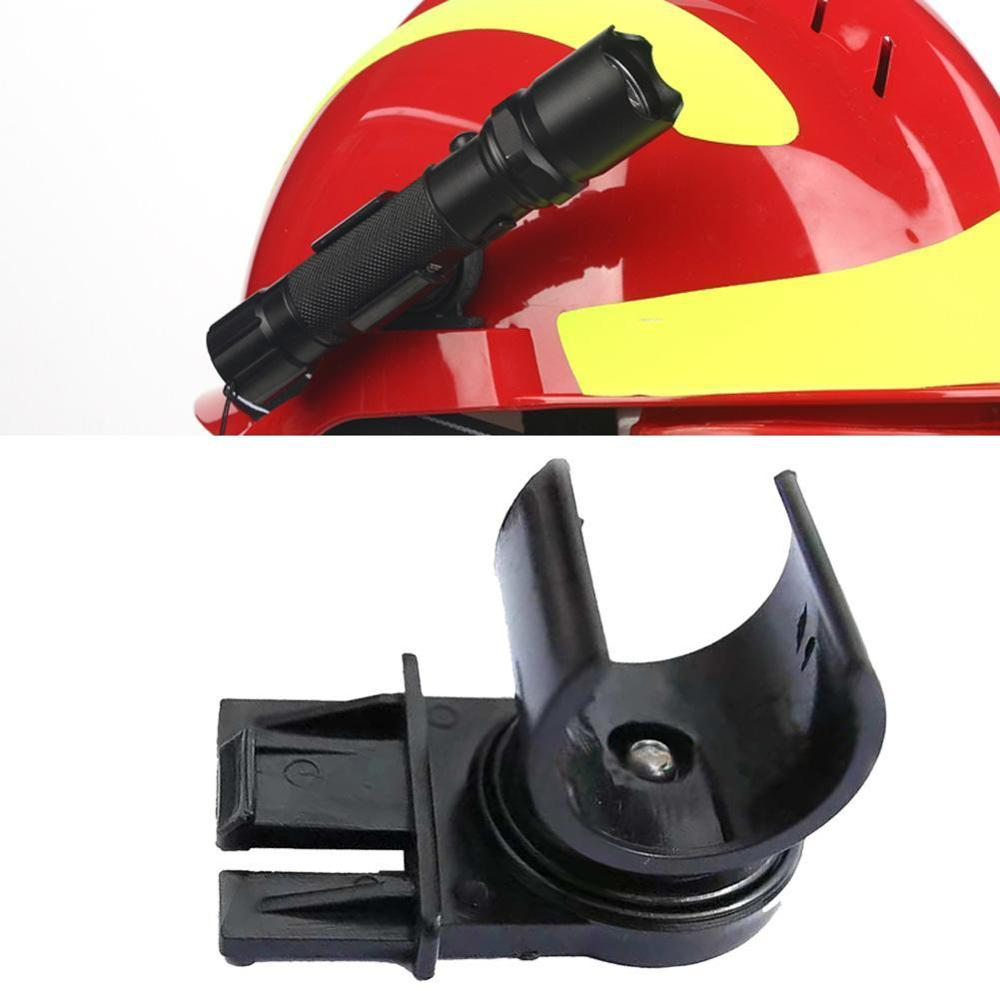 Tactical Helmet Flashlight Holder Black Flashlight Stents Outdoor Climbing F2 Helmet Flashlight Holder Headpiece Accessories