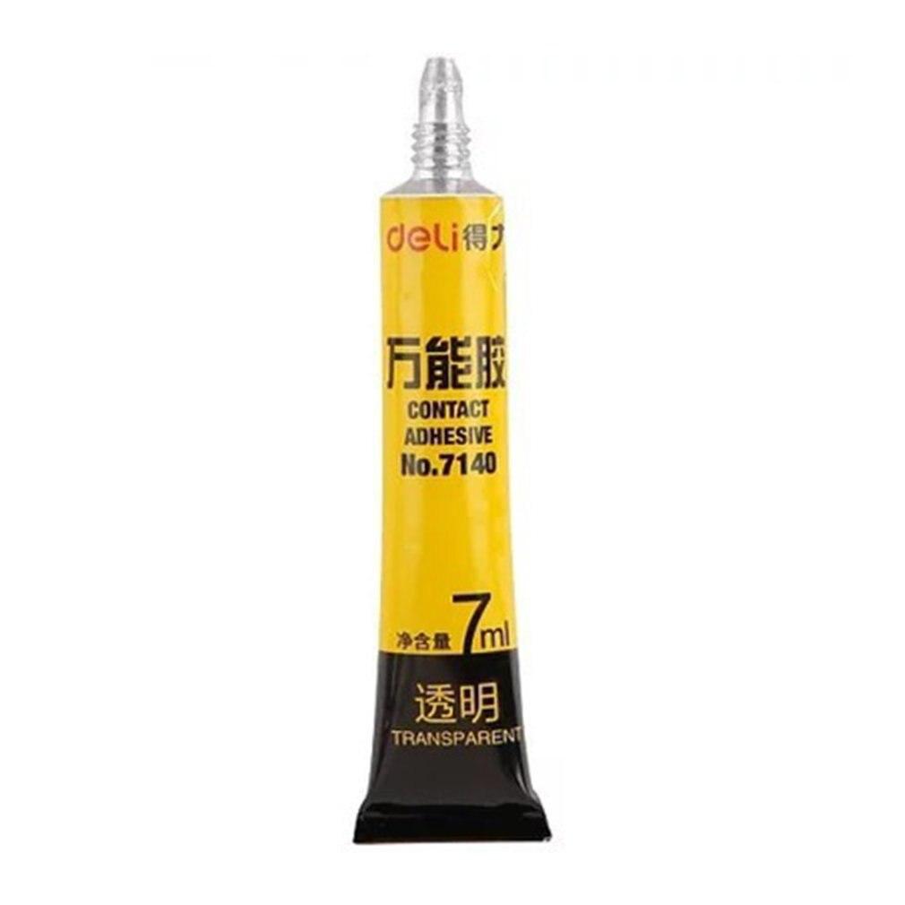 Deli 7140 Million Rubber 7 Ml Transparent Glue Multi-Function Instant Glue Super Glue Waterproof Glue Adhesive Tool