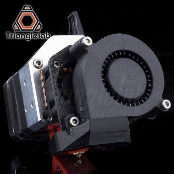 trianglelab AL-BMG-Air Cooled Direct Drive Extruder hotend BMG upgrade kit for Creality 3D Ender-3/CR-10 series 3D printer mellow all metal nf crazy hotend v6 copper nozzle for ender 3 cr10 prusa i3 mk3s alfawise titan bmg extruder 3d printer parts