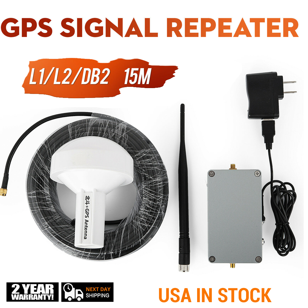 GPS Signal Transmitter/GPS+BD Amplifier/gps Signal Indoor Coverage Amplification/GPS Enhancement Transfer L1 L2 DB2 Full Kit