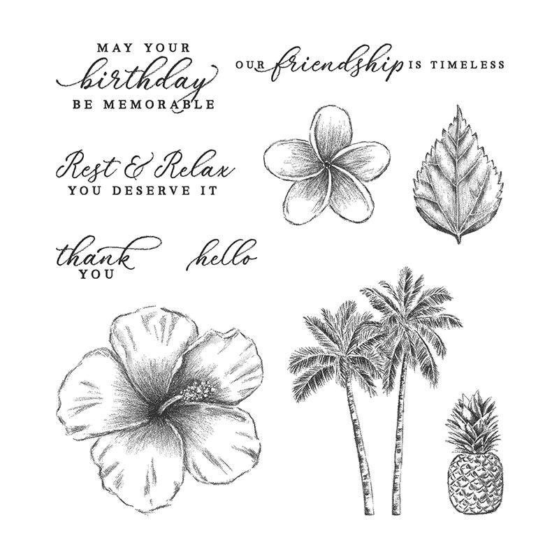 Decor Invitation Tropical Pineapple Metal Cutting Dies And Stamps Diy Scrapbooki