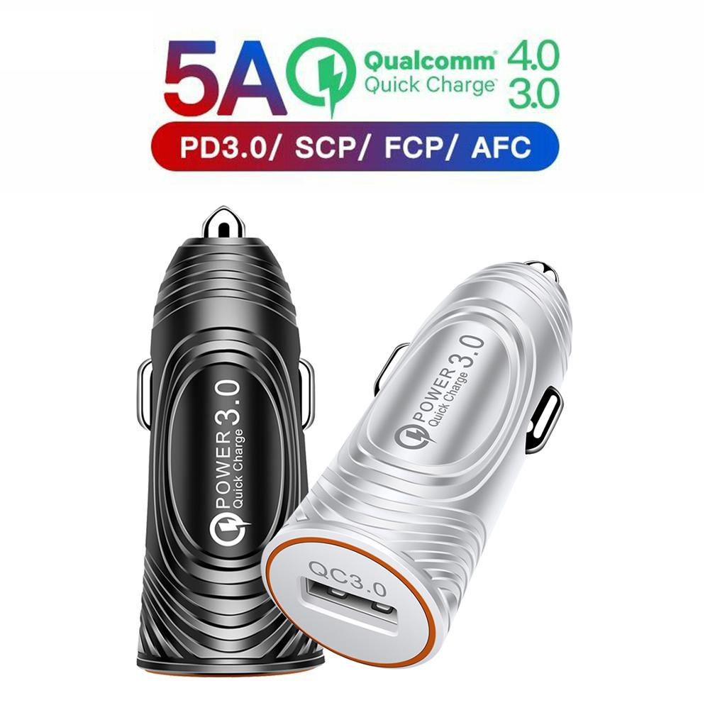 QC 3.0 Universal Car Fast <font><b>Charger</b></font> Adapter <font><b>Wall</b></font> 1 <font><b>USB</b></font> Ports <font><b>5V</b></font> 2.4A Quick Charge image