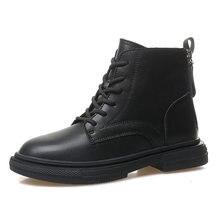 Женские ботильоны 2020 тренд зимняя обувь женские черные ботинки