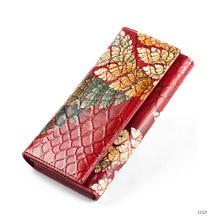 Genuine Leather Wallet High Quality Lady Lady Clutch Bag Dro