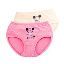 Girl's Underwear Panties Shorts Cotton Briefs Cartoon Children's Tobani Middle-School