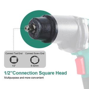 Image 2 - 950W elektryczny klucz udarowy 450 550Nm Max Torque LANNERET 1/2 cal gniazdo samochodowe gospodarstwa domowego profesjonalny klucz zmiana opon narzędzia