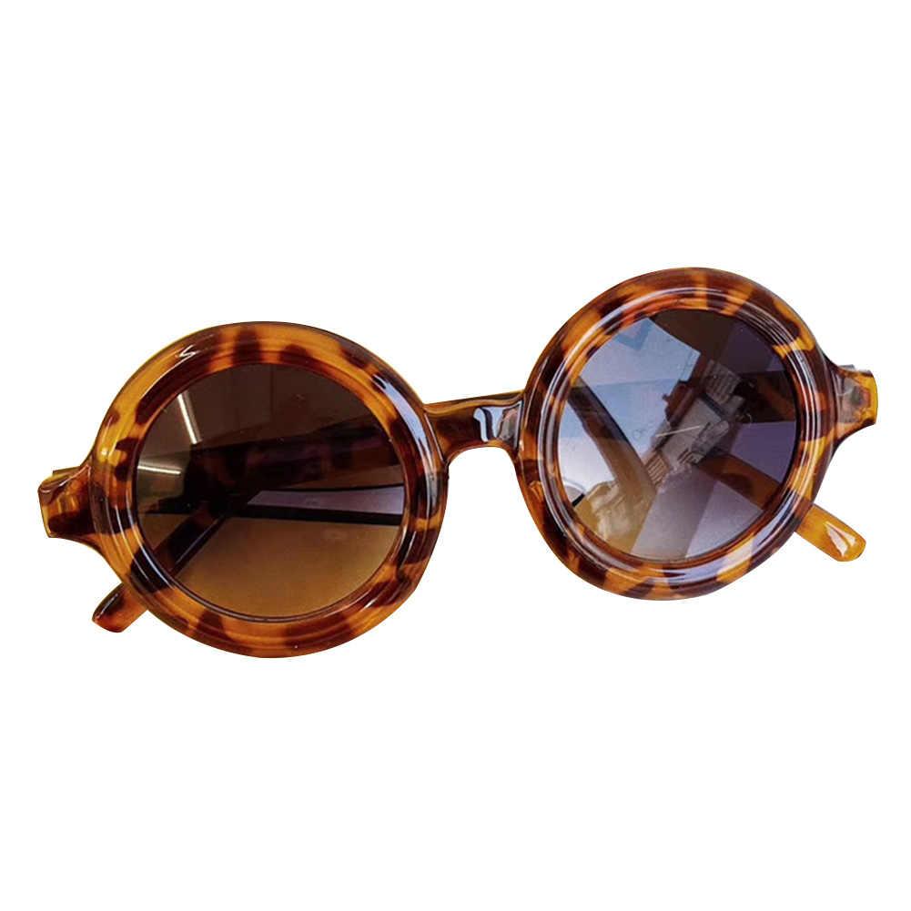 6 色幼児子供サングラス少年少女ヒョウファッションサングラス子供眼鏡ビーチ眼鏡