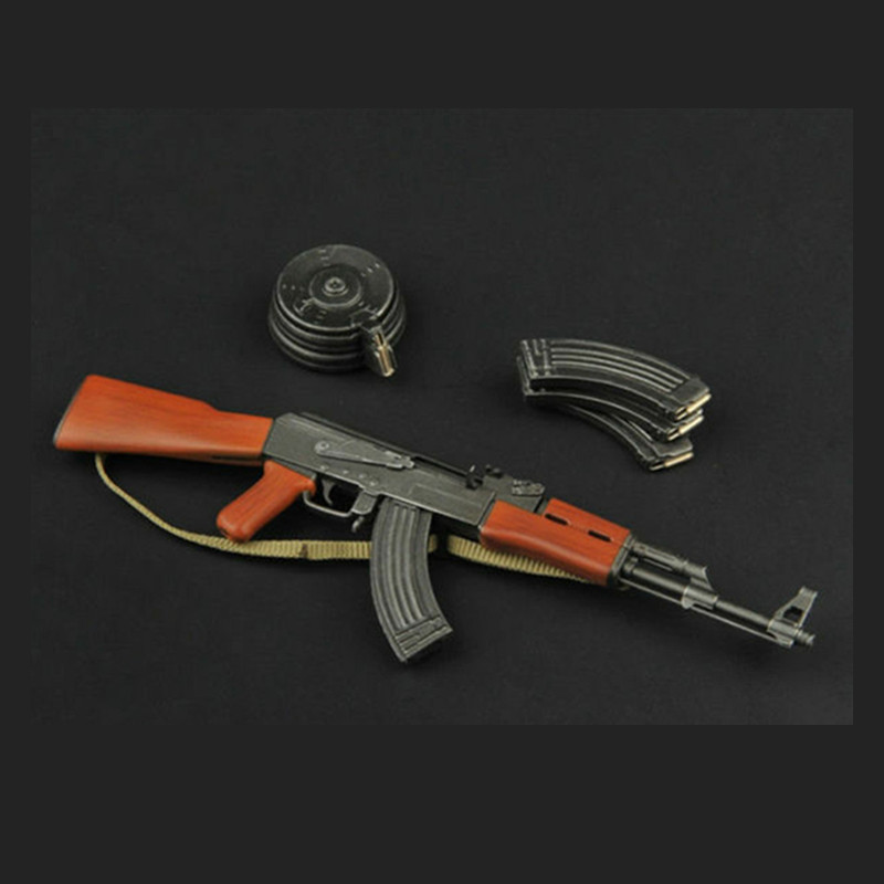 ZYTOYS ZY2007 Plastic Gun Model AK47 Toy <font><b>1/6</b></font> <font><b>Scale</b></font> <font><b>Weapon</b></font> Accessories With Fixed Care Fit For 12inch Action Figure Collectibles image