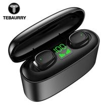 TWS Bluetooth V5.0 Earphones HD Stereo Wireless Headphones Touch Sport Mini Earb
