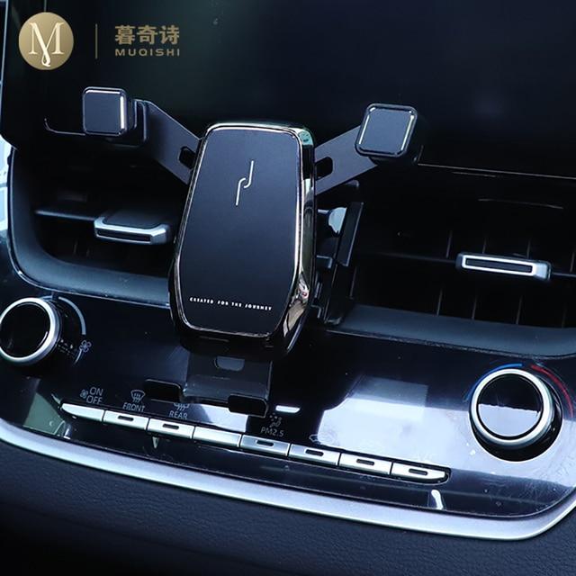 Für Toyota RAV4 Zubehör 2019 2020 RAV 4 Schwerkraft Auto Telefon Halter Gewidmet Air Vent Halterung Clip ständer Handy halter