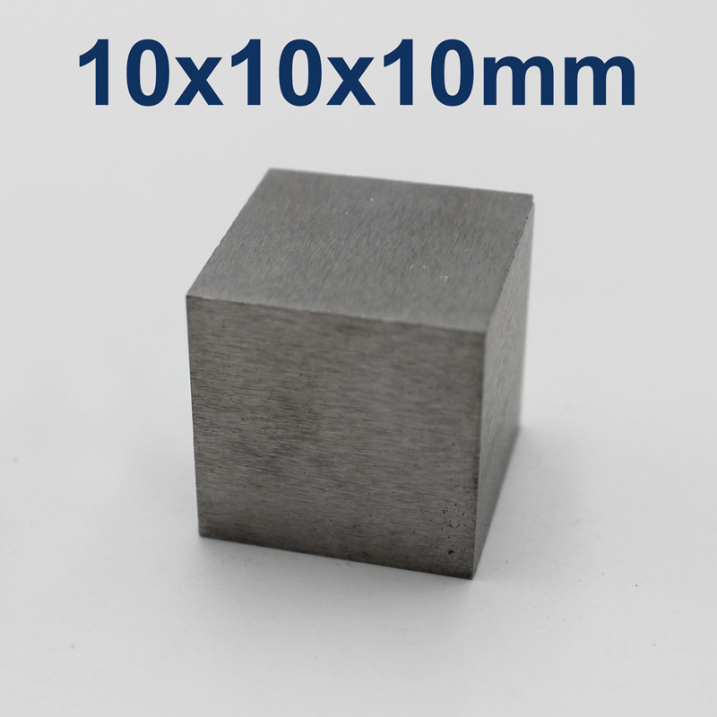 10x10x10mm Tungsten Cube, Purity 99.99%