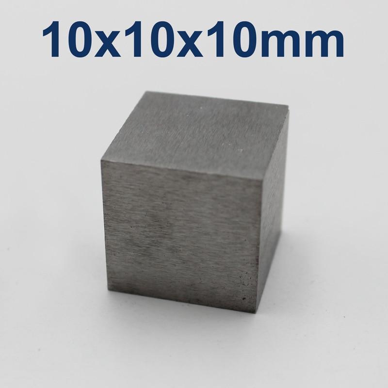 10x10x10mm Tungsten Cube, Purity 99.99%