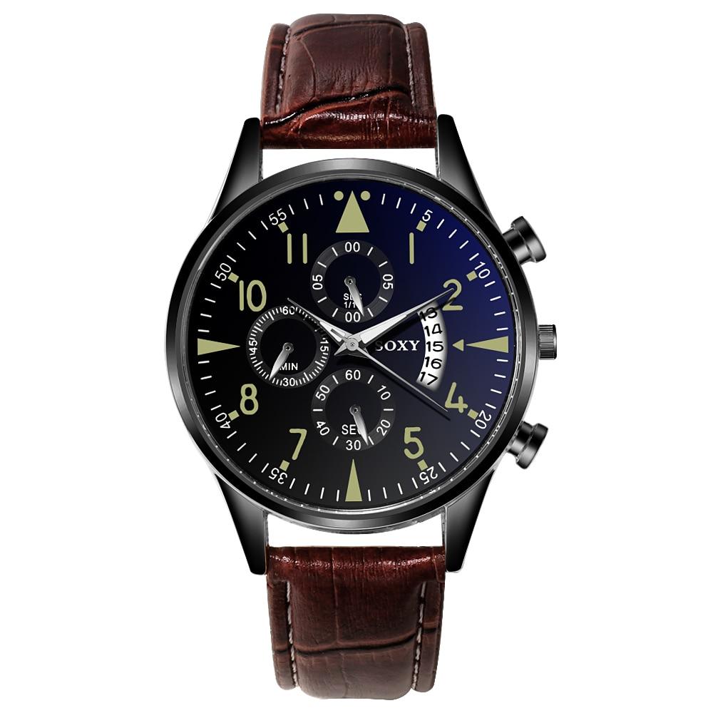 H5c70b3327922479dab369a7ee929fcbc9 Men's Watch 2019 Top Brand Luxury Luminous Date Clock Sports Watches Men Quartz Casual Wrist Watch Men Clock Relogio Masculino