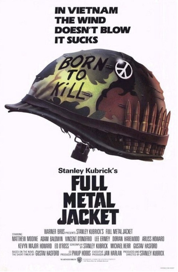 Full Metal Jacket War Movie Film Posters Classic Decorative Poster Wall Canvas Sticker Home Decor image