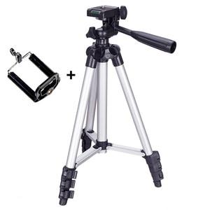 Image 1 - חצובה הר Stand סט עם טלפון מחזיק קליפ עבור Smartphone טלסקופים הדיגיטלי ללכת פרו מצלמה UY8