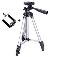 三脚マウントスタンド電話ホルダークリップで設定スマートフォン望遠鏡デジタルゴープロカメラ UY8