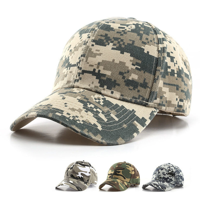 Camouflage Outdoor Sport Caps Tactical Baseball Hat Military Camo Hiking Casquette Hunting Cap Fashion 1