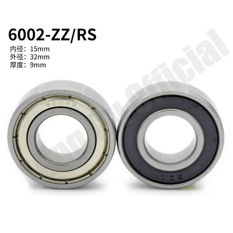 6002ZZ 6002RS 6002-2Z 6000Z 6002-2RS ZZ RS RZ 2RZ радиальные шарикоподшипники 15x32x9 мм Высокое качество