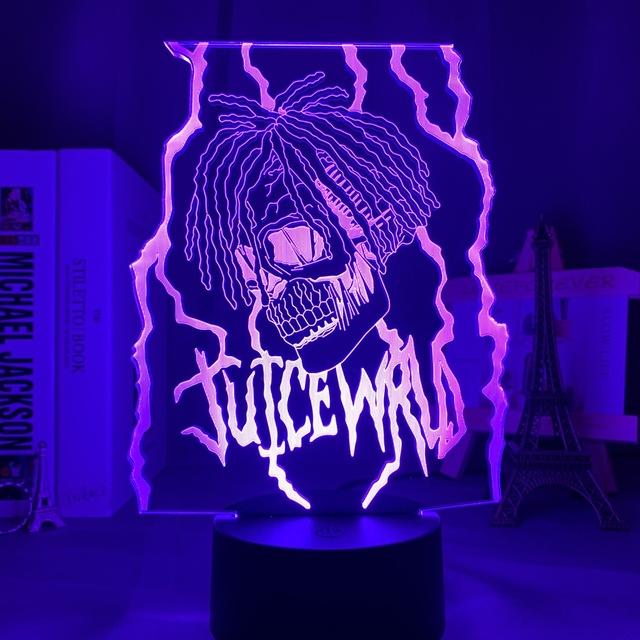 16 COLOR WITH REMOTE JUICE WRLD 3D LED LAMP