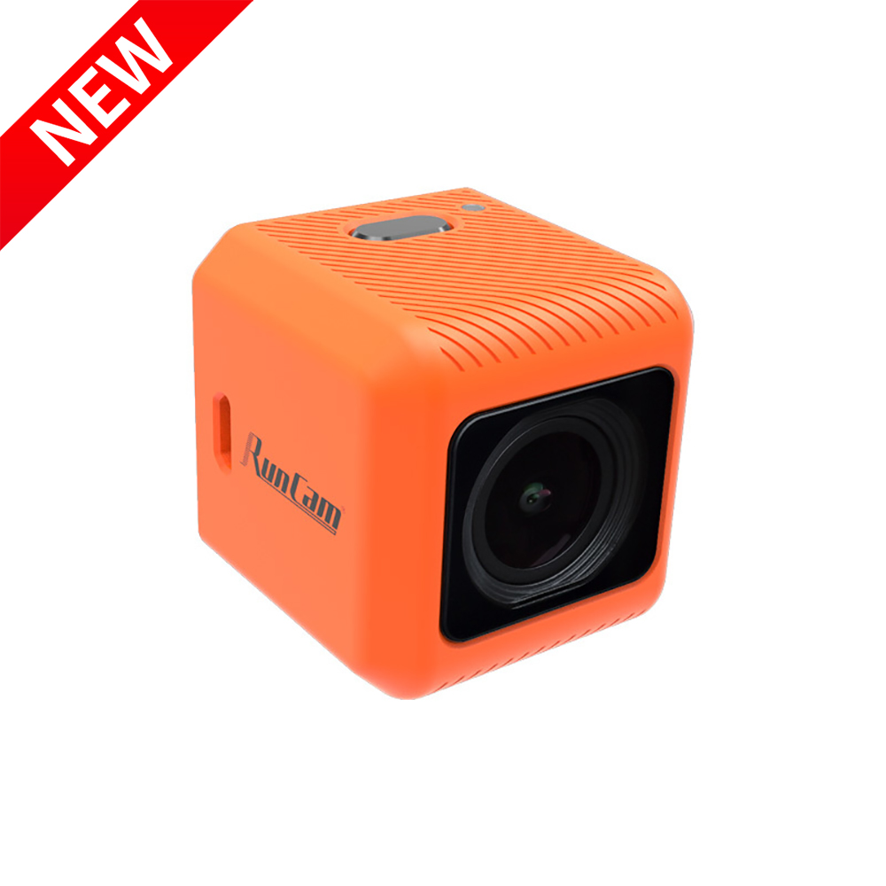 New Upgraded RunCam 5 Orange 1080P 4K HD FPV Action Camera 16:9/4:3 PAL/NTSC Switchable 12MP with 5-15V for FPV RC Drone image