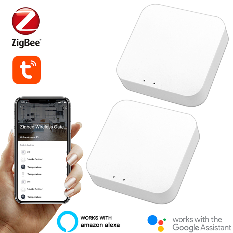 Tuya zigbee ponte 3.0 inteligente casa gateway hub controle remoto zigbee dispositivos via vida inteligente app funciona com alexa casa do google
