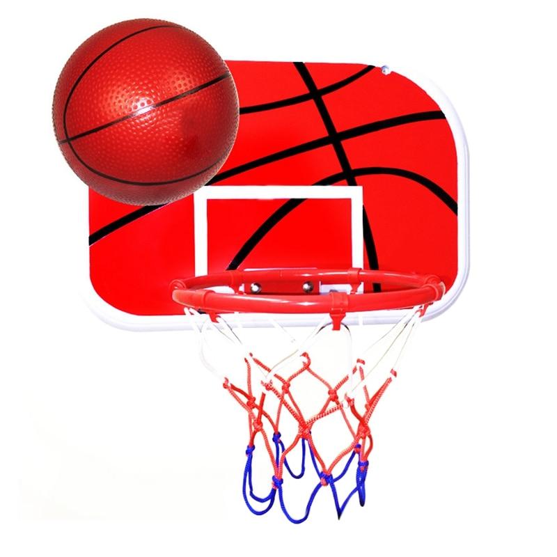 Indoor Adjustable Hanging Basketball Box Mini Basketball Board Children'S Basketball Board
