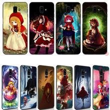 Little Red Riding Hood Soft Case for Samsung Galaxy J8 J7 Duo J6 J4 Plus Prime 2018 TPU Silicone(China)