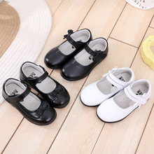 2020 Children's For Girls Leather Shoes Kids Princess Shoes