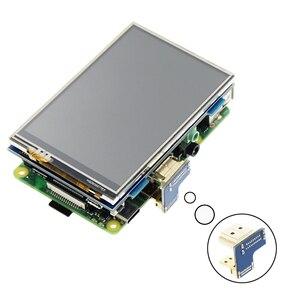 Image 4 - 3.5 pouces LCD HDMI USB écran tactile réel HD 1920x1080 écran LCD Py pour framboise 3 modèle B / Orange Pi (jouer à la vidéo de jeu) MPI3508