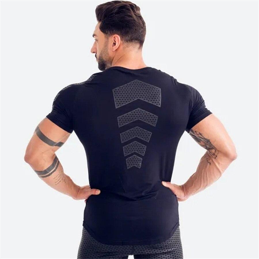cheapest New 2020 Jogging compression Set Men Sportswear Suit Sweatshirt Sweatpants Male Gym Fitness Training Pants Sets Jogging Clothing