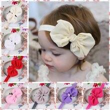 Bebê menina bandana infantil acessórios de cabelo pano laço arcos headwear tiara presente crianças bebês bandagem fita recém-nascido headwrap