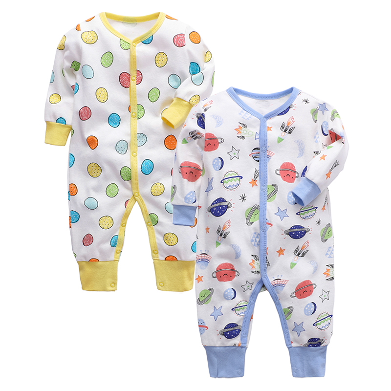 Baby Pajamas Newborn Baby Sleeper 100% Cotton Soft 3 6 9 12 18 24 Months Infant Clothes