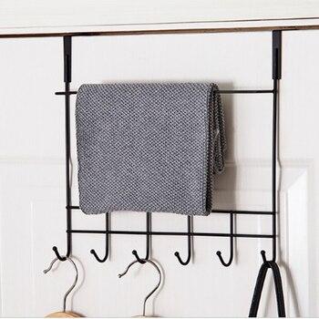 Hanger Key Holder Wall Coat Rack Door Hanger Metal Wall Hanger With Hooks Storage Holder Home Decoration Kitchen Wall Key