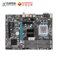 HUANANZHI P45 D2 M ATX Motherboard P45 Para LGA 771/775 DDR2 8GB SATA2.0 USB2.0 VGA PCI E 245*182mm Apoio L5420 L5410 CPU|Placas-mães|Computador e Escritório -