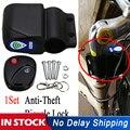 Противоугонный велосипедный замок  велосипедный замок безопасности  беспроводной универсальный замок с сигнализацией для велосипеда  виб...