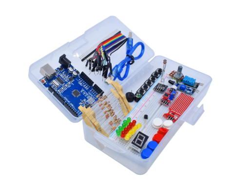 Новейший Обучающий набор, простой RFID стартовый комплект, представляет собой обновленный обучающий комплект для Arduino UNO R3