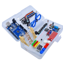 The latest learning kit, the simple RFID startup kit, is an updated learning kit for Arduino UNO R3