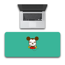 Minnie Mickey waterproof Desk Pad Protecter,  Mouse Pad Keyboard Desk Mat Blotters Organizer with Comfortable Writing Surface