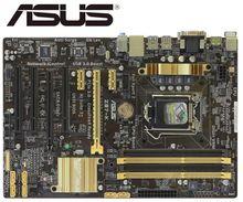 Usado desktop placa mãe para asus Z87 K z87 soquete lga 1150 i7 i5 i3 ddr3 32g sata3 usb3.0 usado mainboard pc