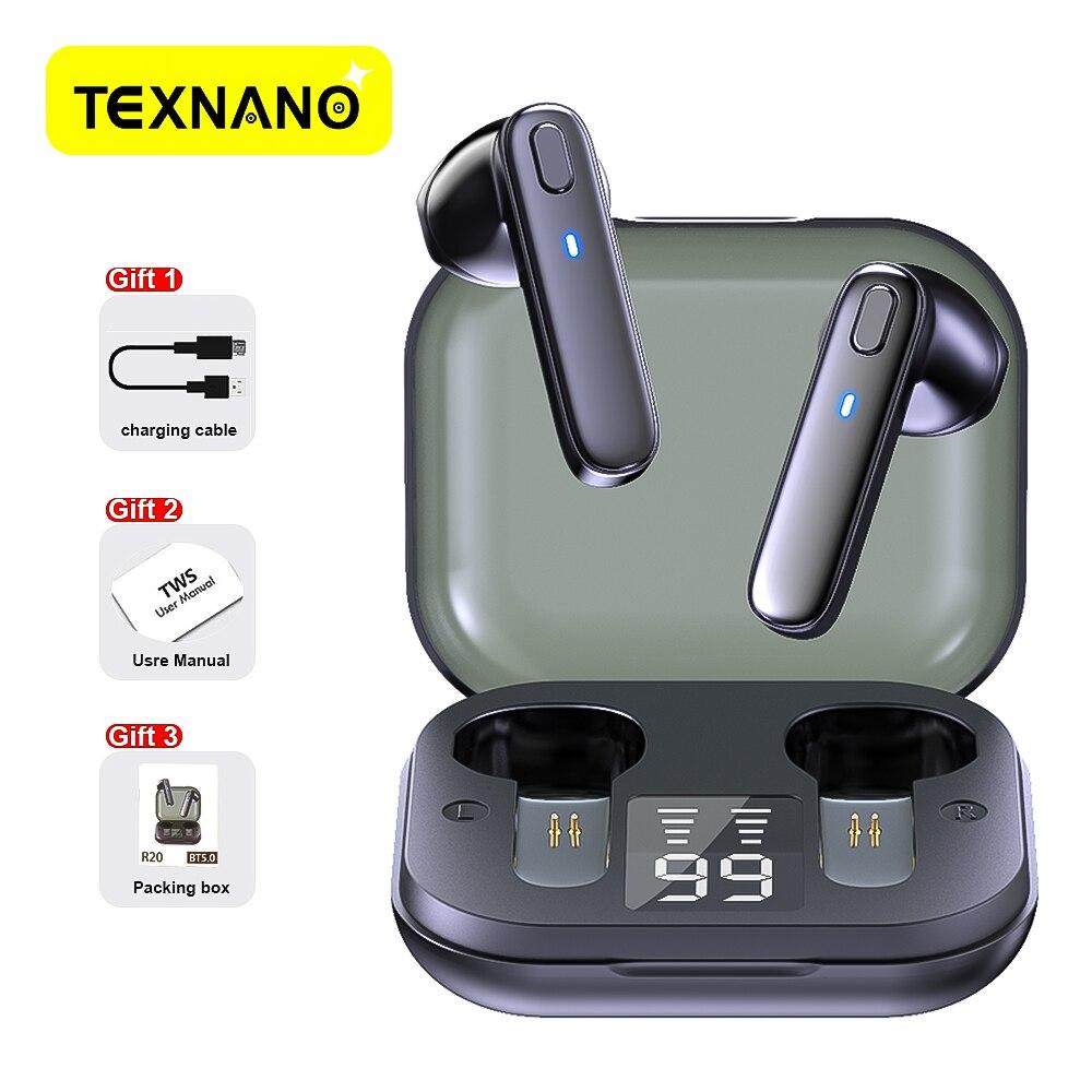 Беспроводные наушники R20 TWS Bluetooth HIFI качественные беспроводные наушники бас наушники Bluetooth наушники Беспроводная Спортивная гарнитура